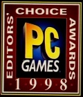 PC Games - 1998 Best Strategy Game